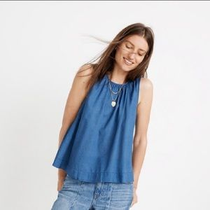 NWT Madewell riverbank Button back top size XXS